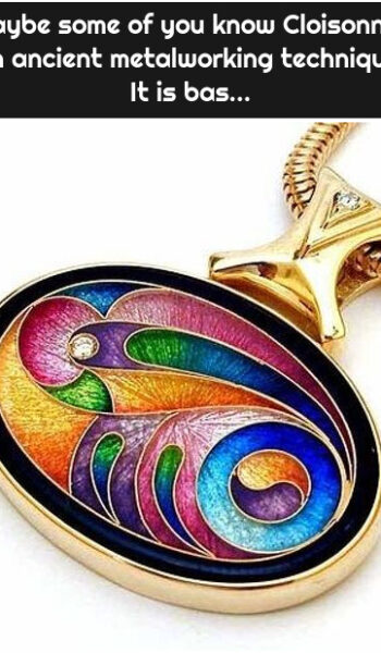 Maybe some of you know Cloisonné , an ancient metalworking technique. It is bas...