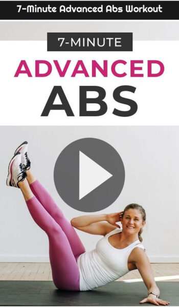 7-Minute Advanced Abs Workout