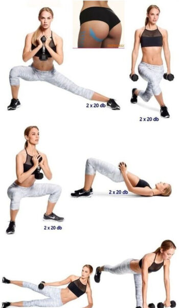 Resistance Band Booty and Thigh Workout