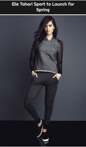 Elie Tahari Sport to Launch for Spring