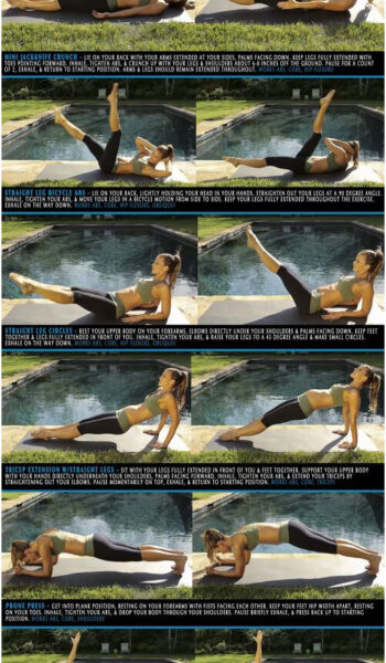 Fat Burning Ab Exercises. Burn fat and slim down while toning up your abs and st...