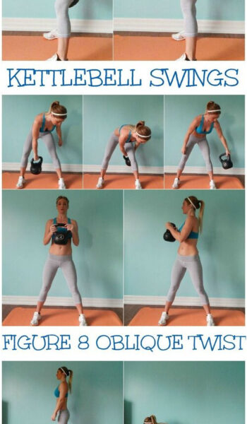 12 Minute Full Body Workout Routine with a Kettlebell. This Workout Routine is a...