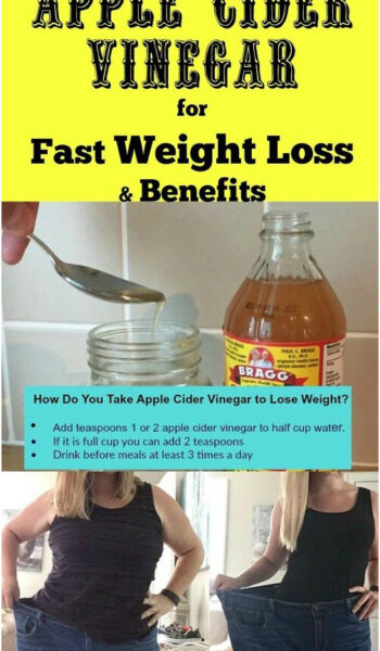 Apple Cider Vinegar for Fast Weight Loss and Benefits