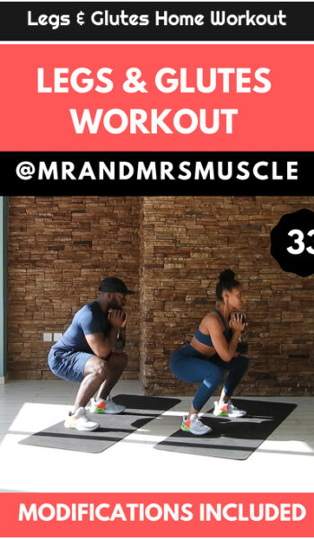 Legs & Glutes Home Workout