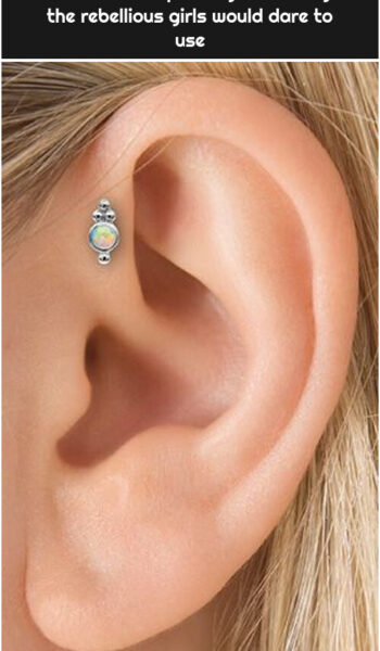 20 Incredible piercings that only the rebellious girls would dare to use