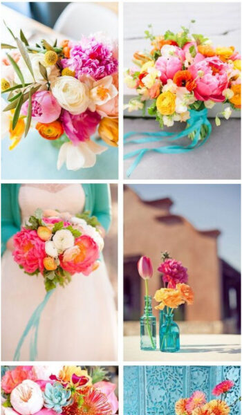 The Summer Candy Color Palette - LinenTablecloth